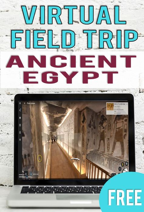 6th Grade Social Studies, Social Studies Activities, Teaching Social Studies, Writing Activities, Ancient Civilizations, Egyptians, Virtual Field Trips, Valley Of The Kings, Blended Learning