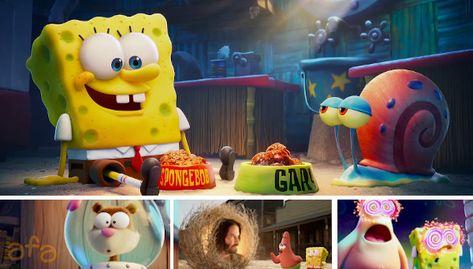 SpongeBob SquarePants 'Sponge On The Run' Trailer Shows Bold New Style
