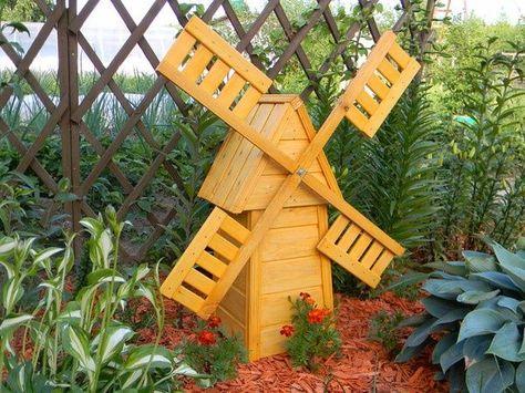 Как сделать мельницу в огород 71