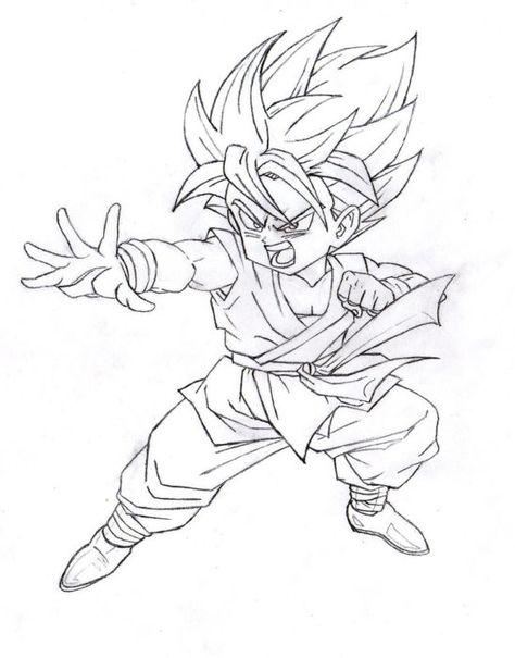 Desenho Dragon Ball Z Desenhos Faceis Desenhos Dragon Ball