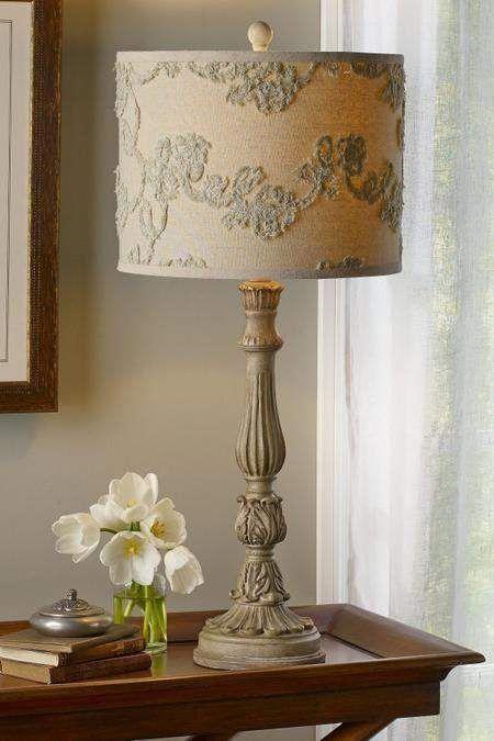 Soft Surroundings Juliet Lamp 3d Shade Homedecorideaspaint Lampentisch Moderne Lampen Rustikale Lampen