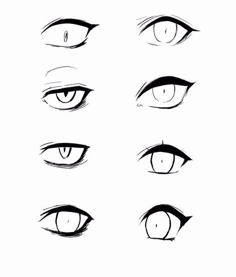 Anime Eye Reference 100 Ideas On Pinterest In 2020 Anime Eyes Eye Drawing Drawing Tutorial