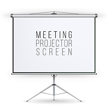 Meeting Projector Screen Vector Projector Screen Backdrop Png And Vector With Transparent Background For Free Download Projector Screen Screen Design Screen