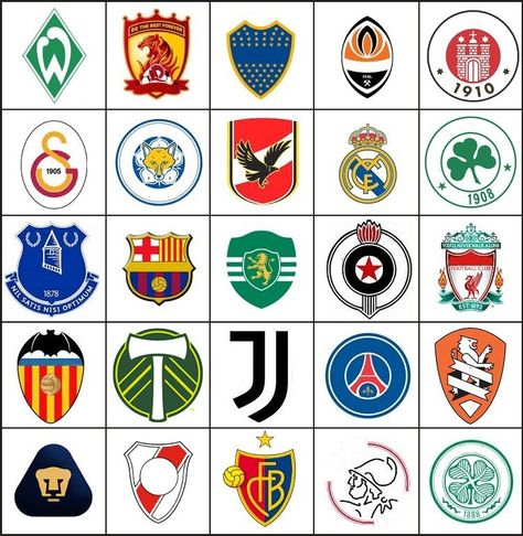 Click the Soccer Logos Quiz