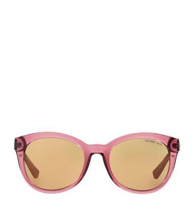 7265b9857cbe3 Michael Kors Champagne Beach Sunglasses