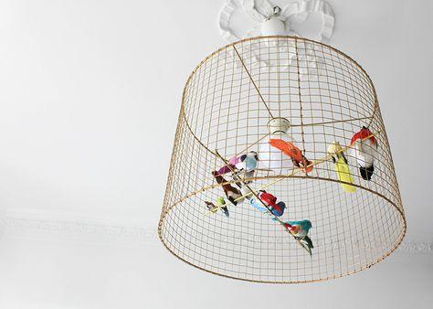 DIY : une suspension volière - FrenchyFancy