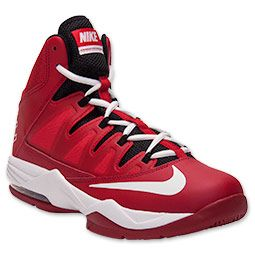nike air max basketball shoes red