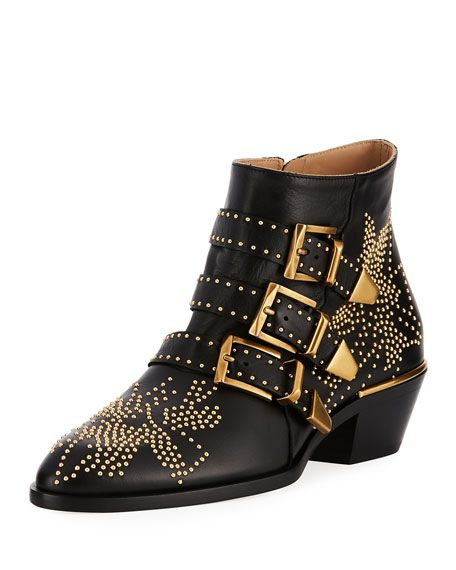 Get free shipping on Chloe Suzanna 30MM Bootie at Neiman Marcus. Shop the latest luxury fashions from top designers.