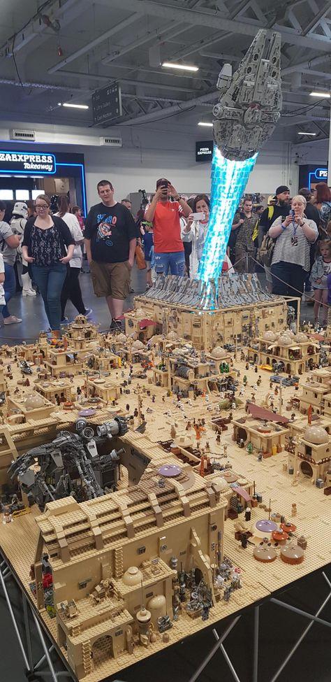 Lego Star Wars, Star Wars Witze, Star Wars Jokes, Lego Pictures, Star Wars Pictures, Star Wars Images, Star Wars Fan Art, Legos, Lego Sculptures