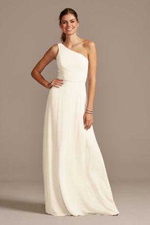 One Shoulder Simple Chiffon Bridesmaid Dress F20163 Bridesmaid Dress Styles Chiffon Bridesmaid Dress Strapless Dress Formal