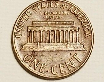 1969 D Penny Floating Roof No F G Etsy In 2020 Penny Rare Coins Worth Money Rare Pennies