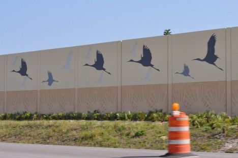 Highway Acoustic Walls 10a Noise Barrier Sound Wall Sound Barrier Wall