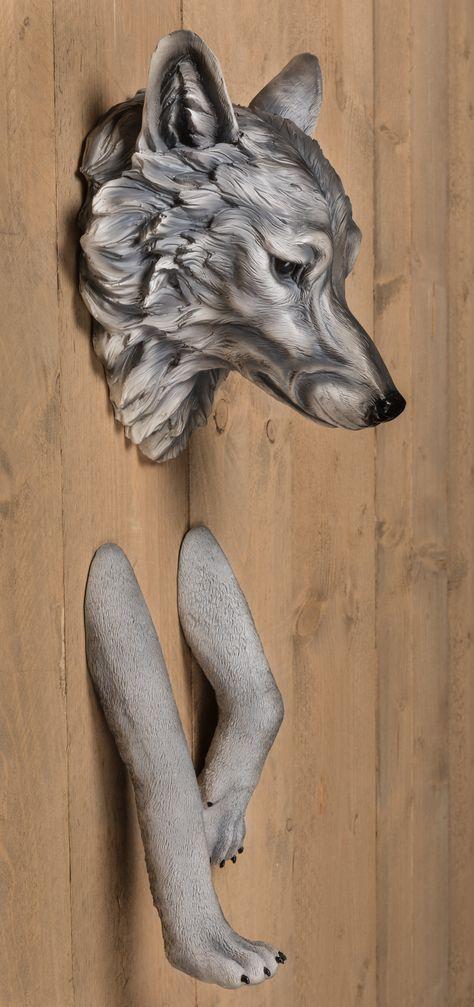 3d Muurdecoratie Kinderkamer.Wolf 3d Muurdecoratie Kinderkamer Geweldig Voor Een