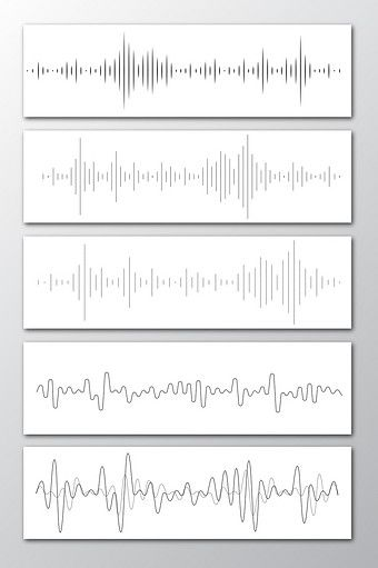 Ash White Concise Thin Line Sound Wave Vector Png Images Ai Free Download Pikbest Sound Wave Tattoo Sound Waves Sound Waves Design