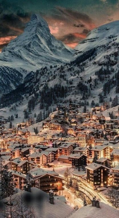 Wallpaper Iphone Android Beautiful Snow City Mountain Winter Scenery Winter Snow Wallpaper Christmas Wallpaper Iphone Tumblr