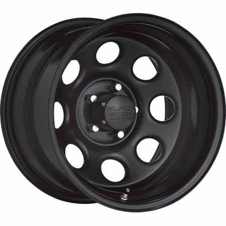 Pro Comp Soft 8 Series 97 1 Piece Gloss Black Steel Qty 5 With 5x5 Bolt Pattern In 17x9 Size 4 25 Backspacing Quadrate In 2020 Black Wheels Steel Wheels Black Rock