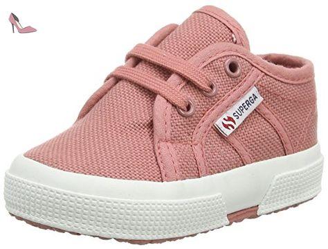 Superga 2750 SUEU, Sneakers basses femme, Blanc Cassé - Elfenbein (956), 41
