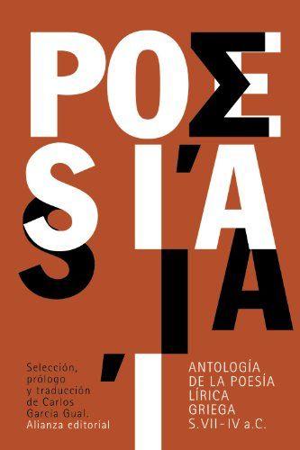Download Antología De La Poesía Lírica Griega Siglos Vii Iv A C El Libro De Bolsillo