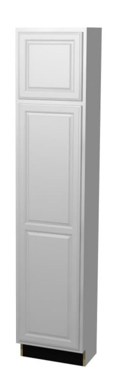 Essentials Snr Mp S St All C U1884l Tall Pantry Cabinet Raised Panel Doors Paint Cabinets White