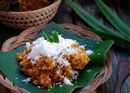 Resep Klepon Tepung Beras Yang Enak Gurih Dan Kenyal Iniresep Com Recipe Food Food Photography Food And Drink