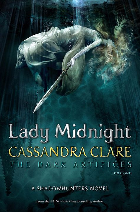 Official Cover for Lady Midnight. It looks amazing!