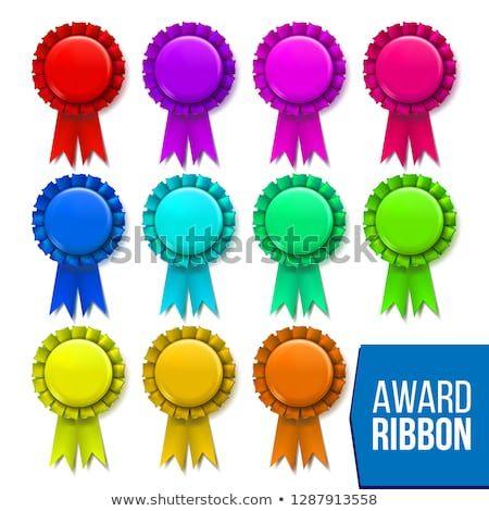 Award Ribbon Set Vector Winner Badge Ceremony Design Poster Card Flyer Champion Medal Honor Icon Retro Element Succ Award Ribbon Badge Ceremony Design