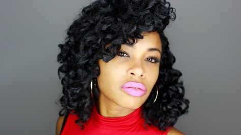 How-To: SLAY your CROCHET BRAIDS Hairstyle!!! (natural hair)
