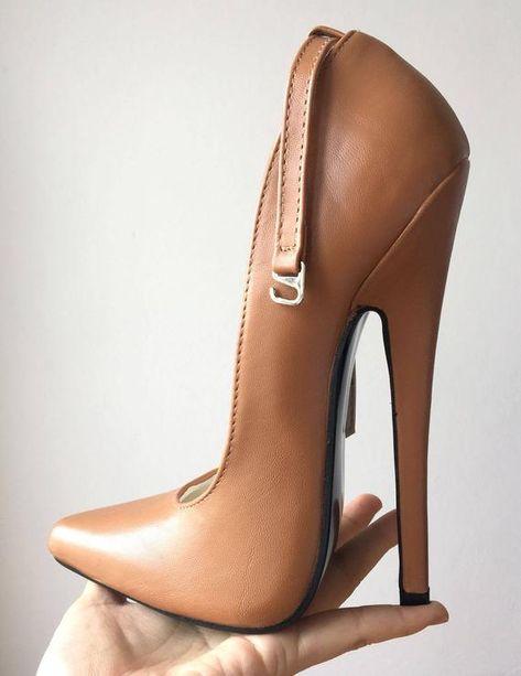RTBU NORMA Sharp toe Mary Janes Fetish 18cm Stiletto Ankle   Etsy