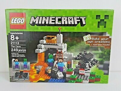 Lego Minecraft The Cave Classic Creative Supplement Big Lego Sets Crafting Box Minecraft Game Nowplaying Lego Minecraft Lego Lego For Kids
