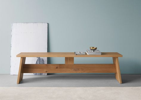 David Chipperfield Creates Furniture From Wooden Planks | Wood Table, Solid  Wood And Simple Furniture