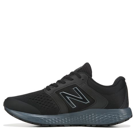 New Balance Men's 520 V5 X Wide Running Shoes (BlackGrey
