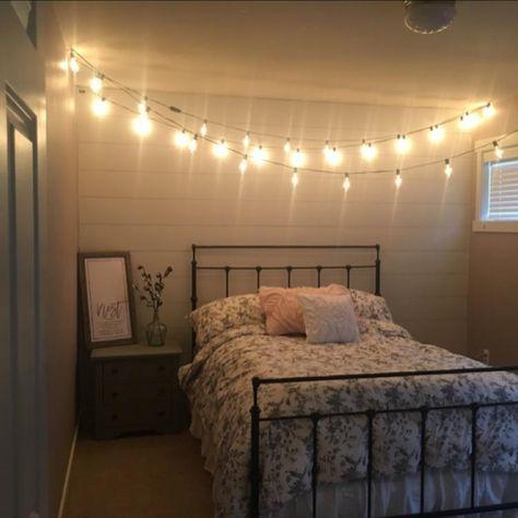 Edison Bulb Light Bedroom Affordable Apartment Decor Apartment