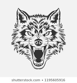 Wolf Head Tattoo Wolf Tattoo Traditional Wolf Face Wolf Face Tattoo