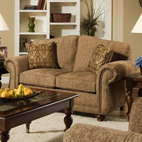 American Furniture 6000 Forever Young Camel Sofa 6003 2350