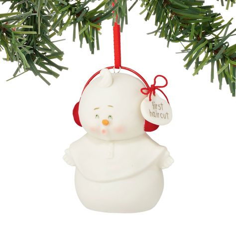 Department 56 Snowpinions From First Haircut Ornament 2.99 In