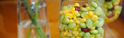 Edamame Salad #healthy #recipe