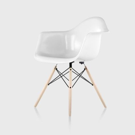 Admirable Living Edge Eames Moulded Fibreglass Armchair Dowel Base Gmtry Best Dining Table And Chair Ideas Images Gmtryco