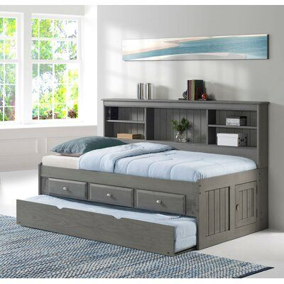 Pin On My Next Bedroom Twin bed with storage and trundle