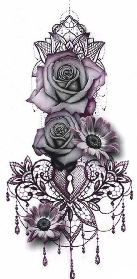 Gothic Rose Mandala Chandelier Back Tattoo Ideas For Women Traditional Vintage Chandelier Gothic In 2020 Arm Tattoo Geometric Tattoo Design Rose Tattoo Sleeve