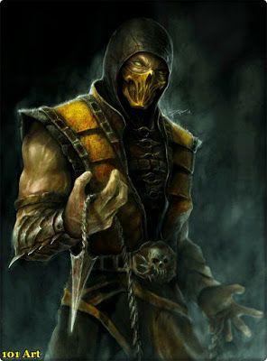 Mortal Kombat Scorpion Art Scorpion Mortal Kombat Mortal Kombat