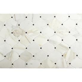 Shop American Olean Genuine Stone Pearl White Lantern Marble