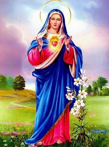 710 Portraits of Mary Queen of Heaven & Earth ideas   queen of heaven,  blessed mother, mother mary