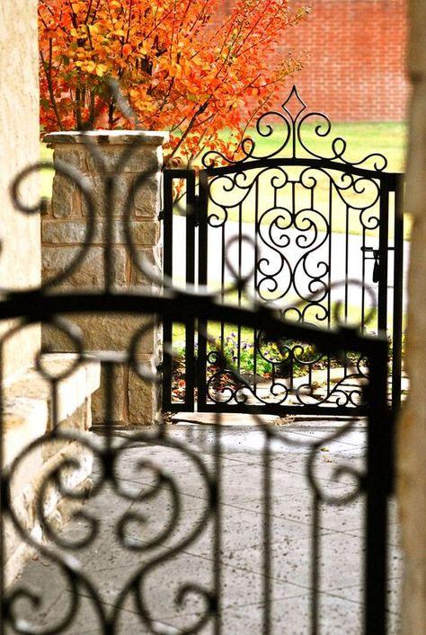 Pin By Dolores On Autumn Home Autumn Home Iron Gates