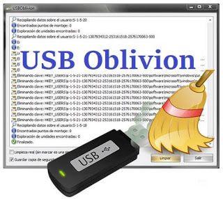 برنامج حذف آثار الفلاشة ومحركات Usb من سجل الويندوز Usb Oblivion Usb Oblivion