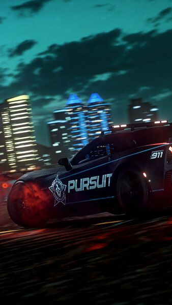 Need For Speed Heat Cars Night Police Pursuit 4k Hd Mobile Smartphone And Pc Desktop Laptop Wallpape Need For Speed Need For Speed Cars Need For Speed Games
