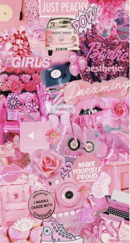 Super Fashion Collage Pink 38 Ideas Pink Wallpaper Iphone Aesthetic Iphone Wallpaper Pink Wallpaper