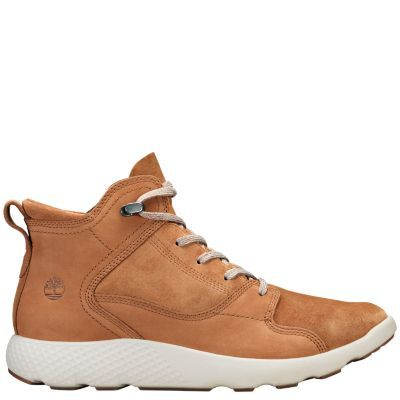 62a819bd5ea Timberland | Men's FlyRoam Leather Hiker Boots in 2019 | shoes ...