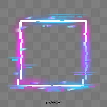Bordure Neon Violette Defectueuse L Hologramme Pepin Effet De Lampe Fichier Png Et Psd Pour Le Telechargement Libre Neon Png Neon Photo Clipart