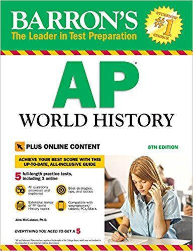 PDF DOWNLOAD] Barron's AP World History, 8th Edition: With