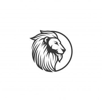 Lion Head Vector Logo Illustration Lion King Png And Vector Leao Vetor Logotipo De Leao Ilustracao De Leao
